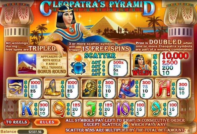 Images of Cleopatra's Pyramid