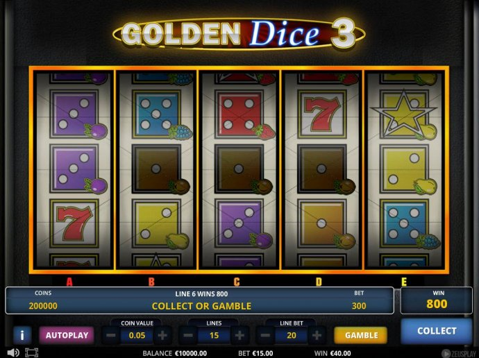 Golden Dice 3 by No Deposit Casino Guide