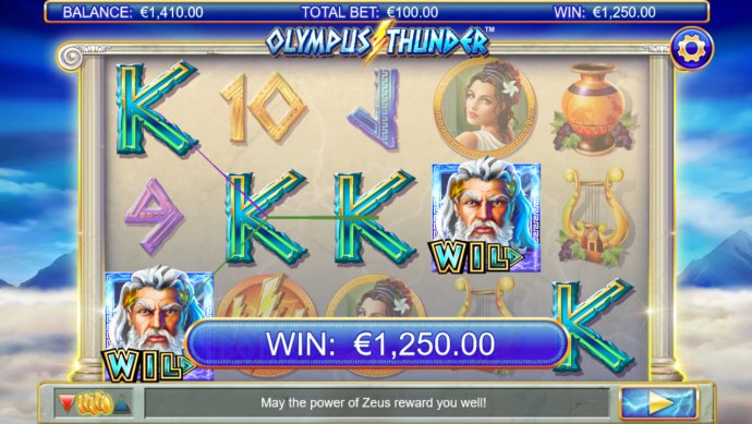 No Deposit Casino Guide image of Olympus Thunder