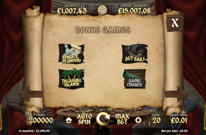 Pirate Tales by No Deposit Casino Guide
