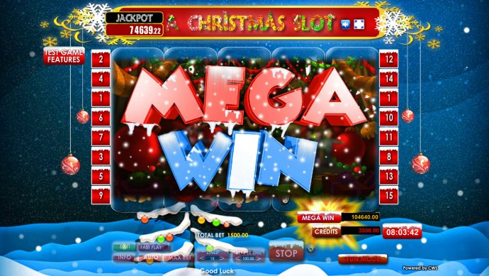 No Deposit Casino Guide image of A Christmas Slot