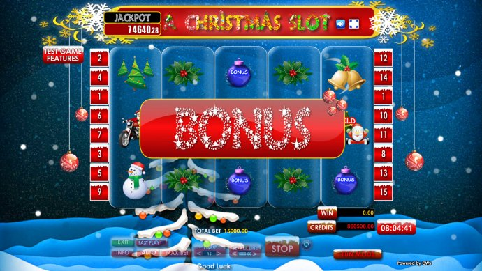 A Christmas Slot screenshot