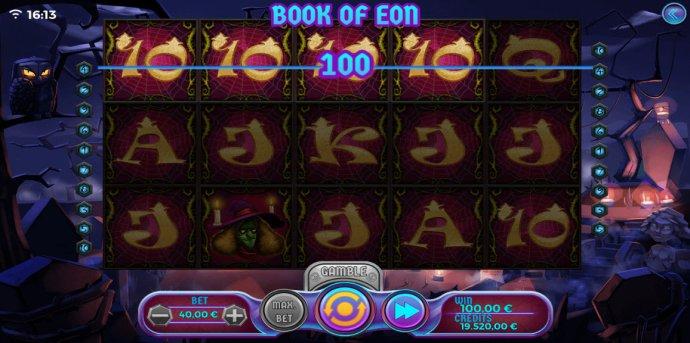 No Deposit Casino Guide image of Book of Eon