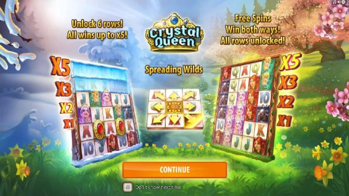 No Deposit Casino Guide image of Crystal Queen