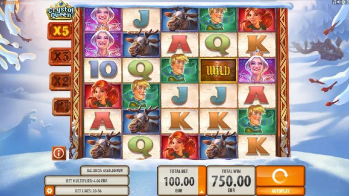 Crystal Queen by No Deposit Casino Guide