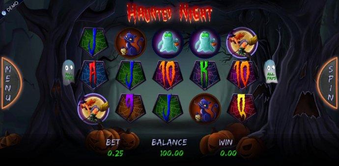 Haunted Night by No Deposit Casino Guide