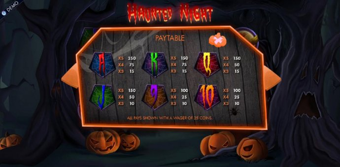 Low value game symbols paytable - No Deposit Casino Guide