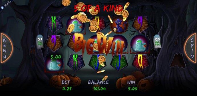 No Deposit Casino Guide image of Haunted Night