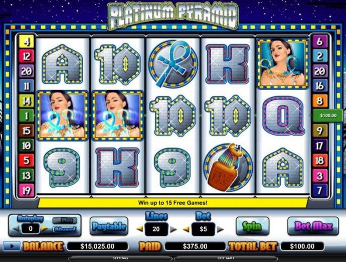Platinum Pyramid by No Deposit Casino Guide