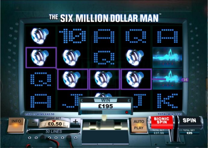 Images of The Six Million Dollar Man