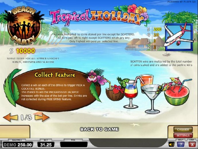 Images of Tropical Holiday