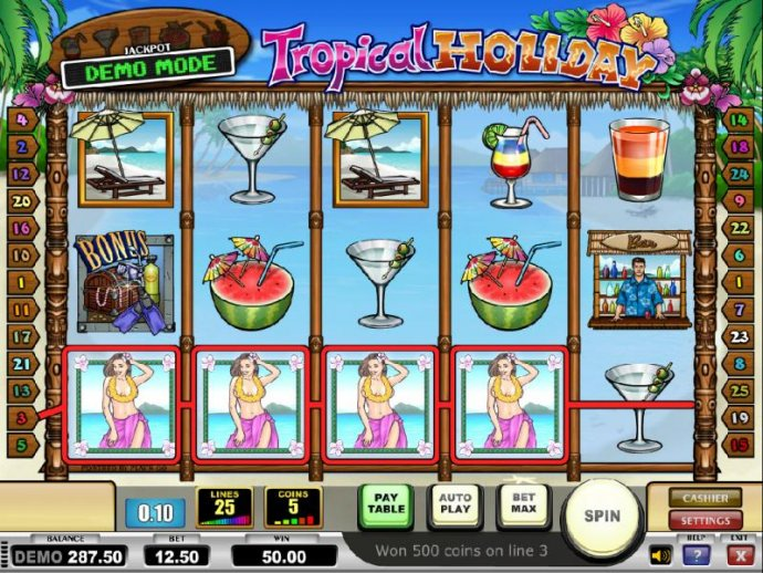 Tropical Holiday by No Deposit Casino Guide