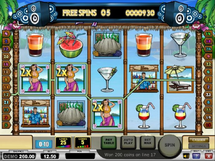 three of a kind with 3x multipliers triggers a modest payout - No Deposit Casino Guide