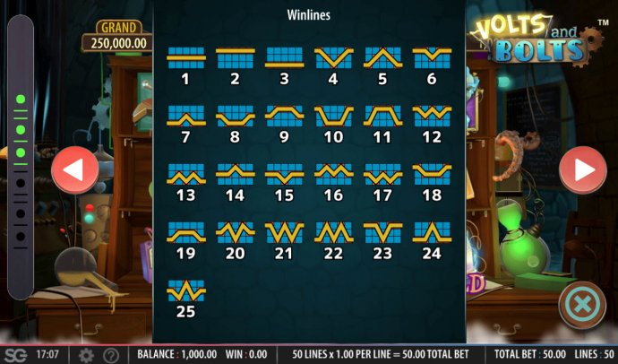 No Deposit Casino Guide image of Volts and Bolts