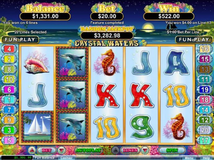 Free spins feature pays out a $522 jackpot by No Deposit Casino Guide