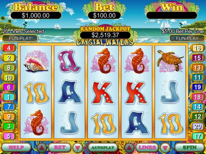 No Deposit Casino Guide image of Crystal Waters