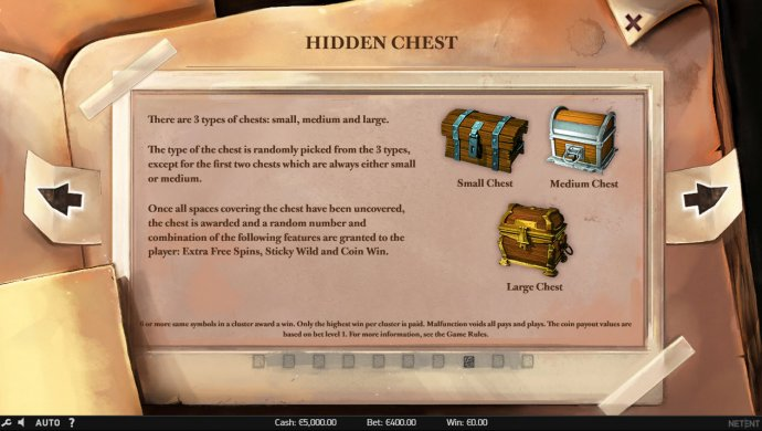 Hidden Chest by No Deposit Casino Guide