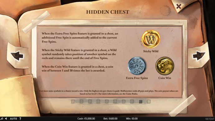 No Deposit Casino Guide - Hidden Chest