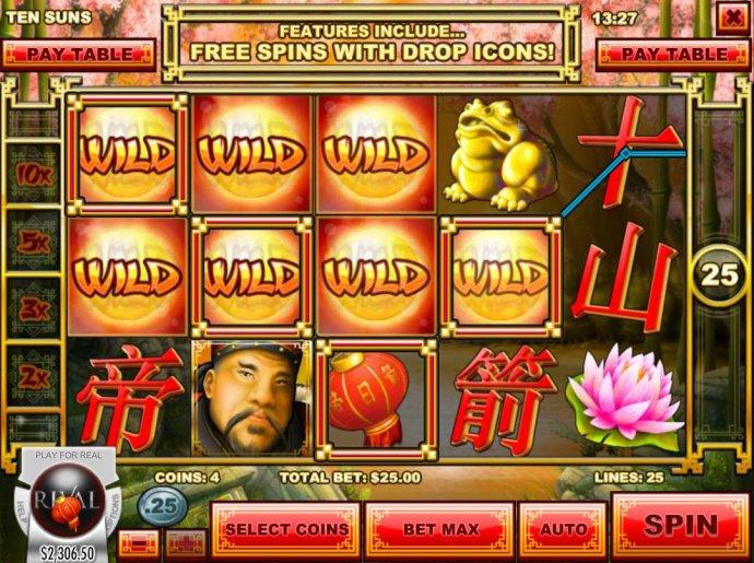 A 958.00 big winn triggered by wild symbols. by No Deposit Casino Guide