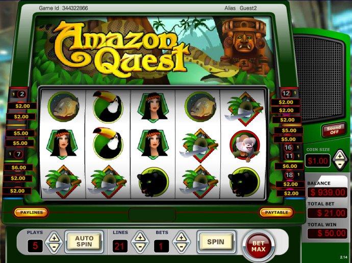 Amazon Quest screenshot