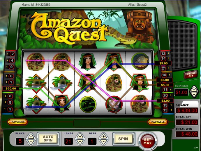 Amazon Quest by No Deposit Casino Guide