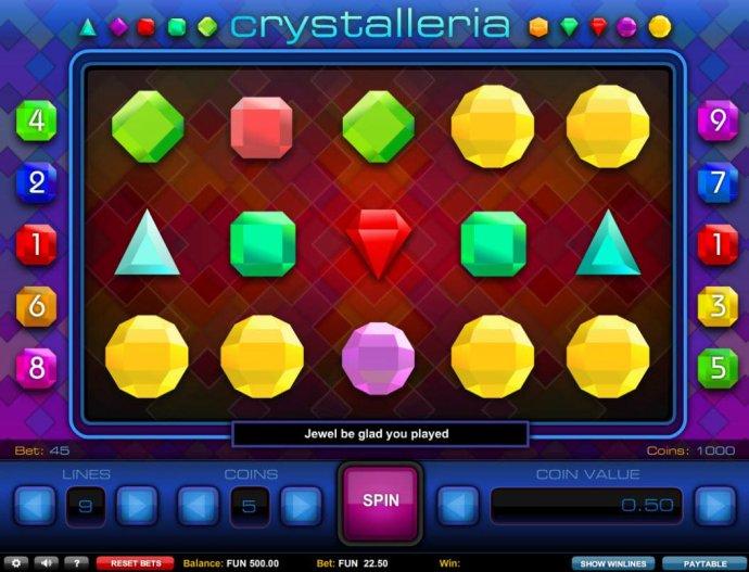 Crystalleria by No Deposit Casino Guide