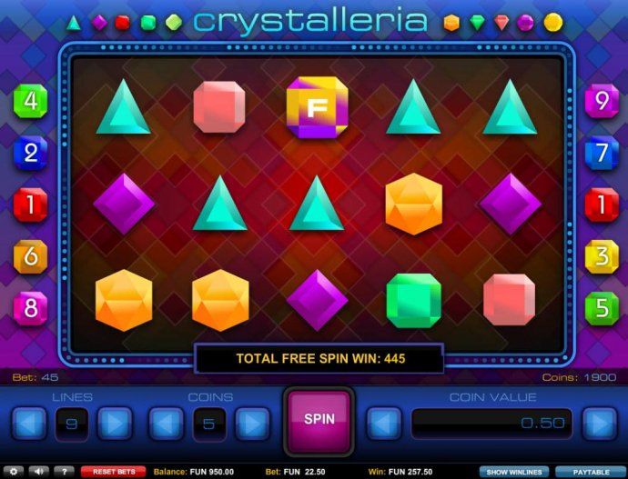 No Deposit Casino Guide - Total free spins win 445 credits