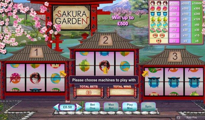 No Deposit Casino Guide image of Sakura Garden