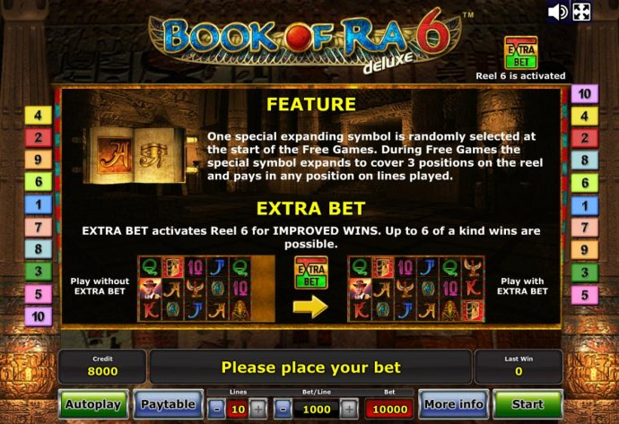 No Deposit Casino Guide - Feature Rules and Extra Bet Rules