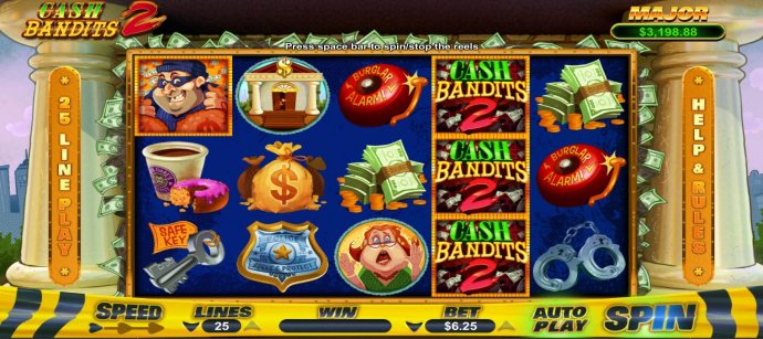 Cash Bandits 2 by No Deposit Casino Guide