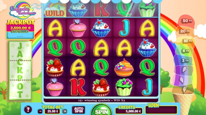 Images of Cupcake Rainbow