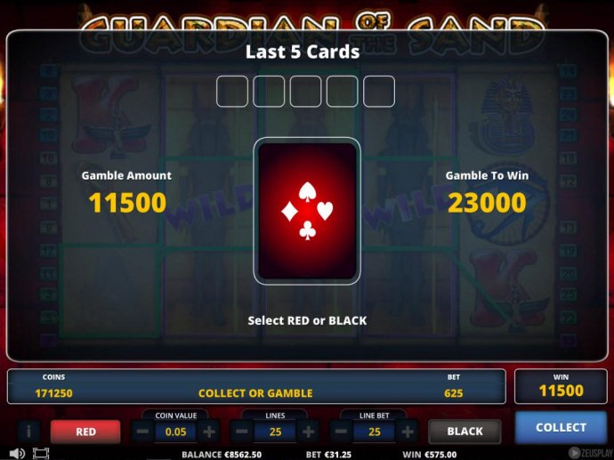 Guardian of the Sand by No Deposit Casino Guide