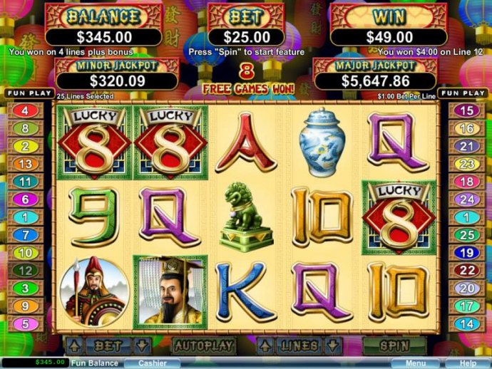 No Deposit Casino Guide image of Lucky 8