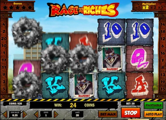 Rage to Riches by No Deposit Casino Guide