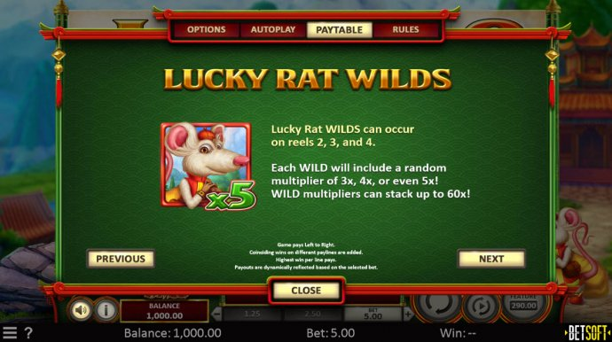 Lucky Rat Wilds by No Deposit Casino Guide