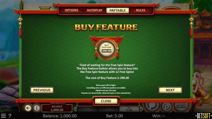 No Deposit Casino Guide - Buy Feature