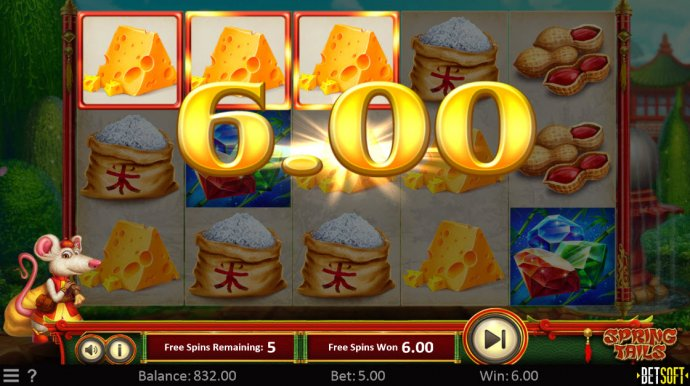 No Deposit Casino Guide image of Spring Tails