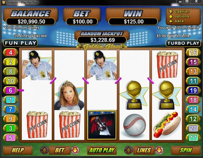 No Deposit Casino Guide image of Golden Glove