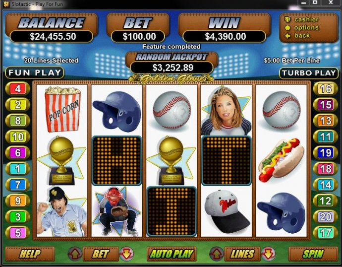 Golden Glove by No Deposit Casino Guide
