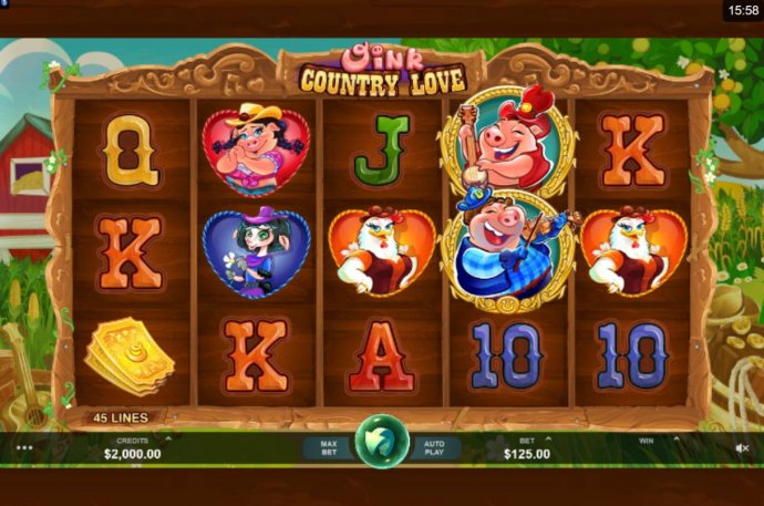 No Deposit Casino Guide image of Oink Country Love