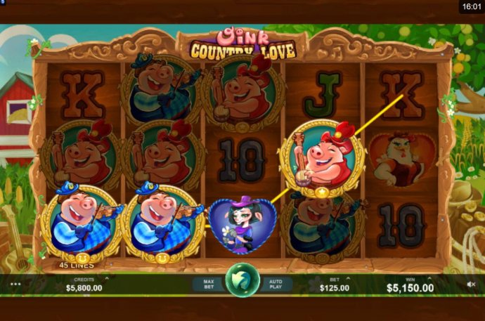 Oink Country Love by No Deposit Casino Guide