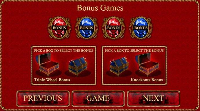 Bonus Games - No Deposit Casino Guide