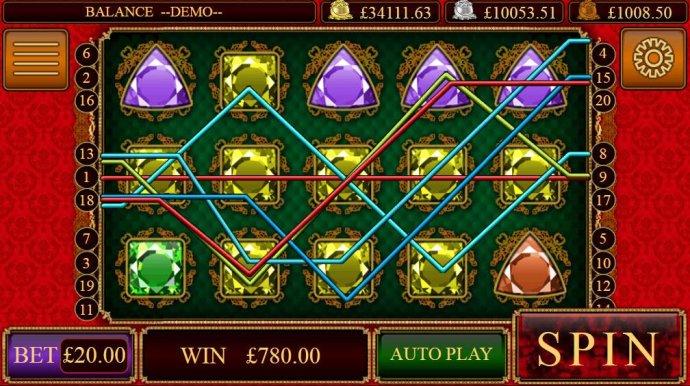 Rubies and Sapphires screenshot