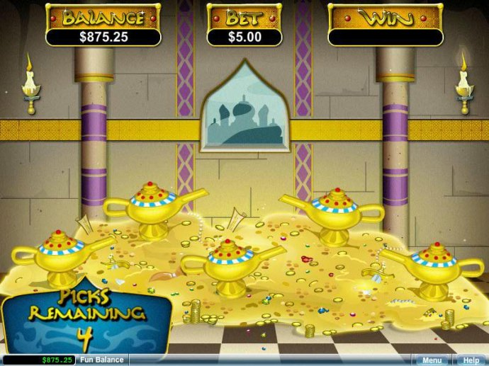 Aladdin's Wishes screenshot