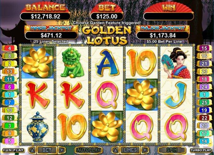 Golden Lotus screenshot
