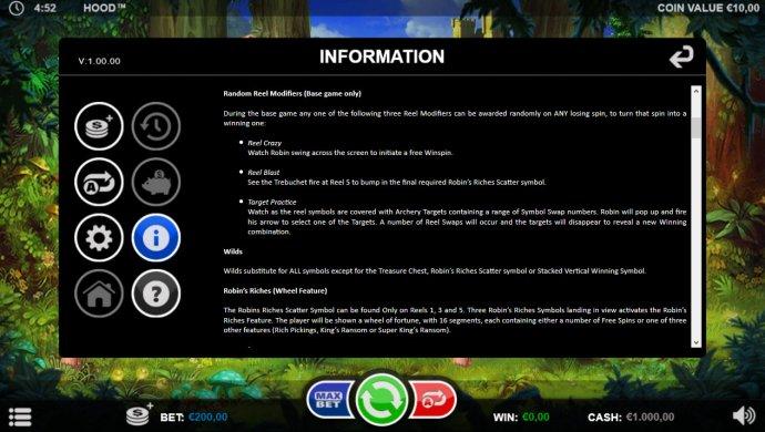 Reel Modifiers by No Deposit Casino Guide