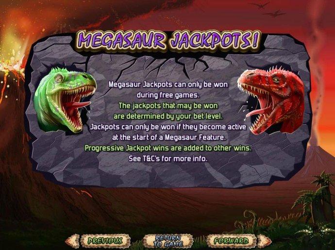 No Deposit Casino Guide image of Megasaur
