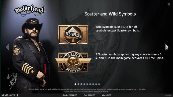 No Deposit Casino Guide image of Motorhead