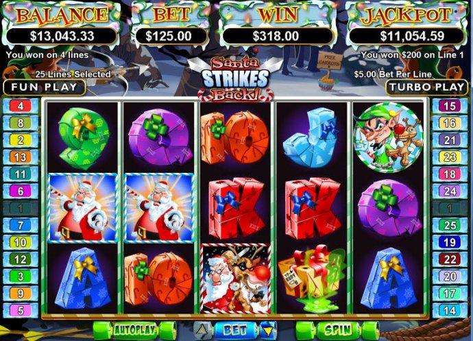 Santa Strikes Back by No Deposit Casino Guide
