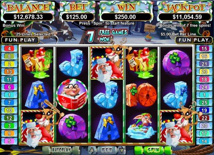 No Deposit Casino Guide - Rudolphs Revenge Bonus